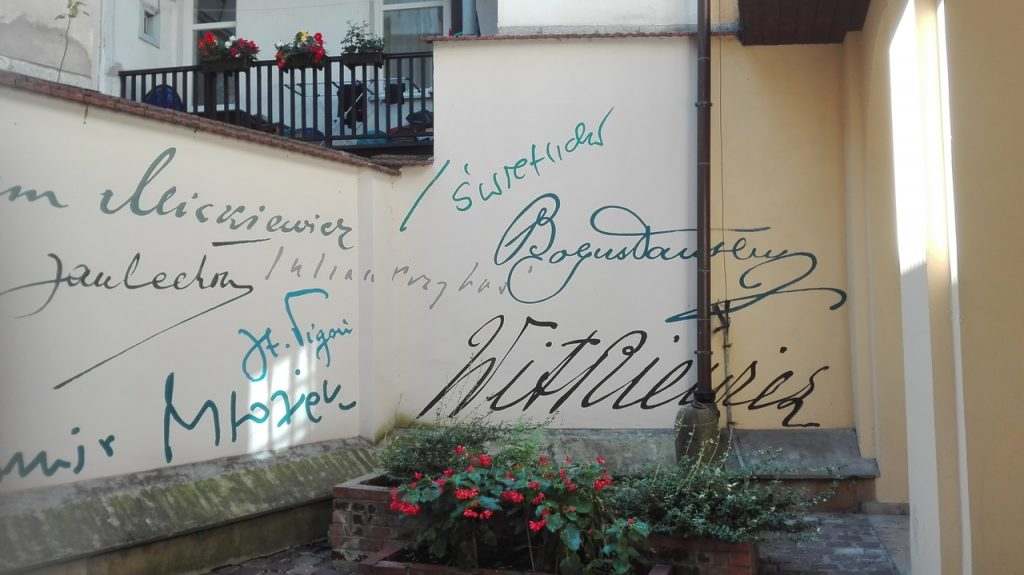 Jagiellonian University walls