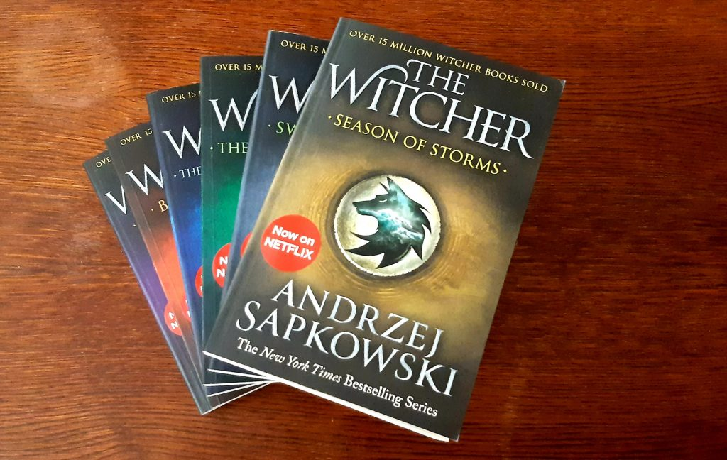 The Witcher books collection in English