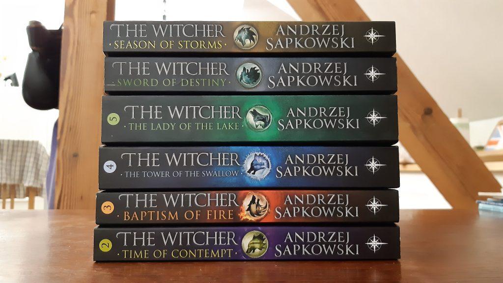 The Witcher saga books series